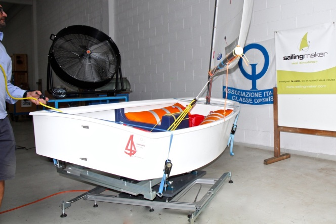 """""""Opti simulator"""": the sailing comes to the streets with moreease!"""